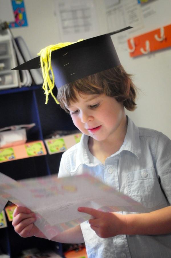 ezra preschool graduation 2013-4