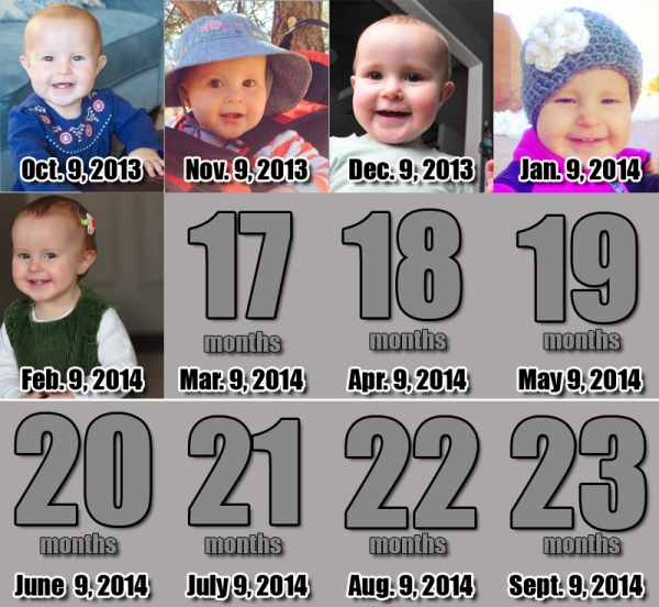 Elia - 16 Months!