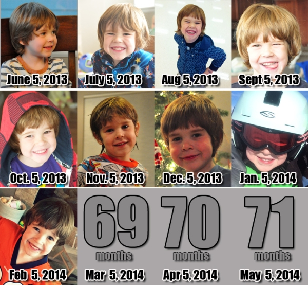 Ezra - 68 Months!