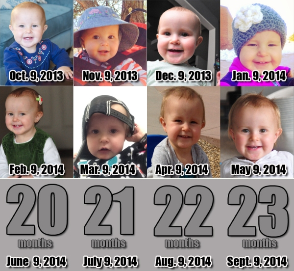 Elia - 19 Months!