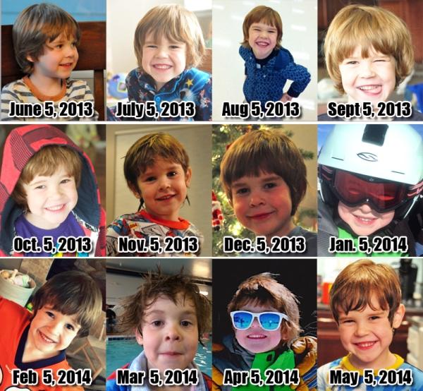 Ezra- 71 Months!