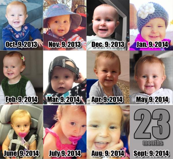 Elia - 22 Months!
