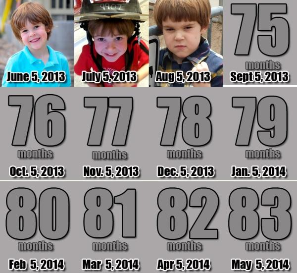 Ezra - 74 Months!