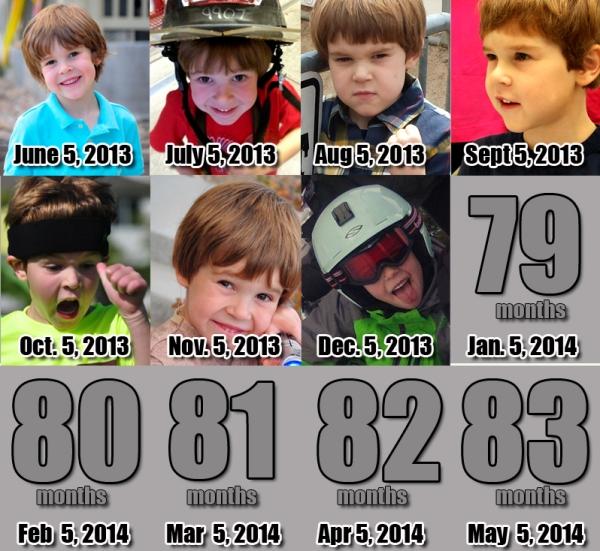 Ezra - 78 Months!