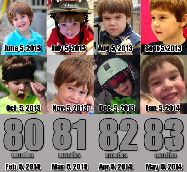 Ezra - 79 Months!