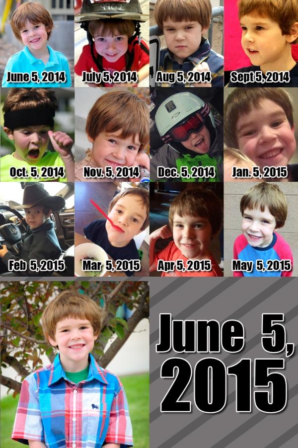 Ezra - 84 Months!