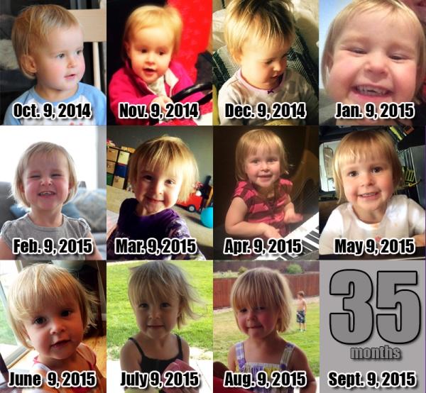 Elia - 34 Months!