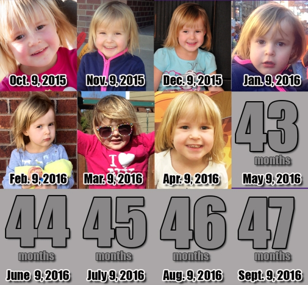 Elia - 42 Months!